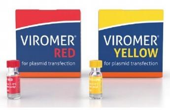 Viromer® RED(红)、YELLOW(黄)质粒DNA和mRNA转染试剂