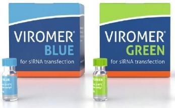 Viromer® BLUE(蓝)、GREEN(绿)siRNA和miRNA转染试剂